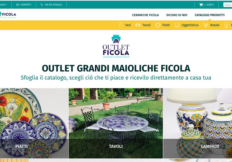 ceramiche Deruta outlet Ficola