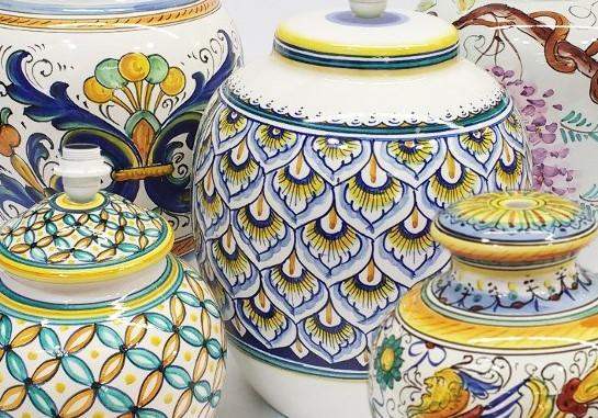 Ceramiche umbre di Deruta storia