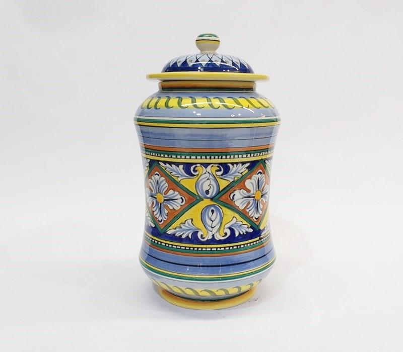 barattolo in ceramica di Deruta