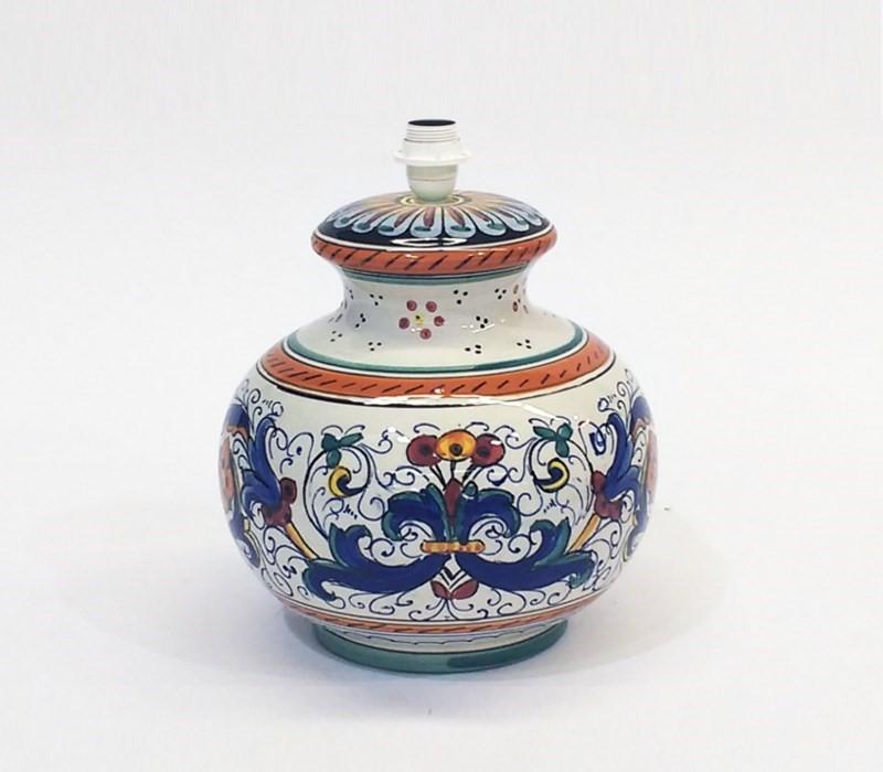 lampada ceramica ricco deruta